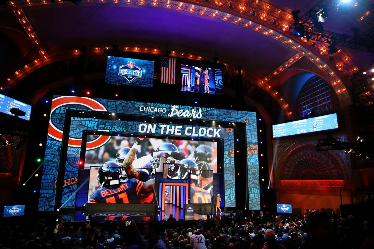 Setting Up The Bears Draft Board For All 7 Rounds Windy